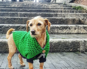 BLANCOAT SIZE S dog sweater blanket for small dogs chihuahua, dachshound, yorkshire terrier, toy poodle, hundepulli, hundekleidung
