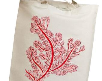 Sea Coral & Kelp 04 Eco Friendly Canvas Tote Bag (isl030)