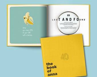A Personalized 40th Birthday Gift - The Book of Everyone US