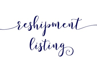 Reshipment Listing