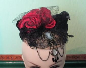 Gothic Victoriana Love Fascinator
