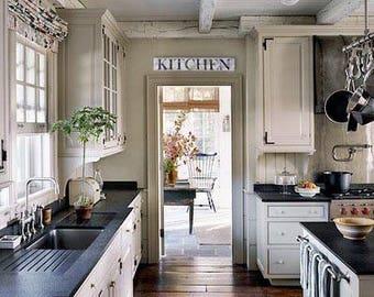 farmhouse kitchen etsy