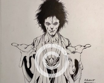 DC Comics Sandman Original Artwork