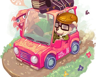 Animal Crossing - Print
