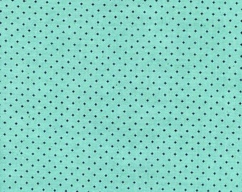Add It Up in Seaglass - cotton fabric