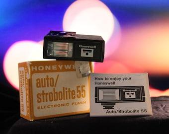 Honeywell Auto/Strobolite 55 - Electronic Flash