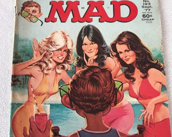 Charlie's Angels MAD Magazine 1977 No. 193