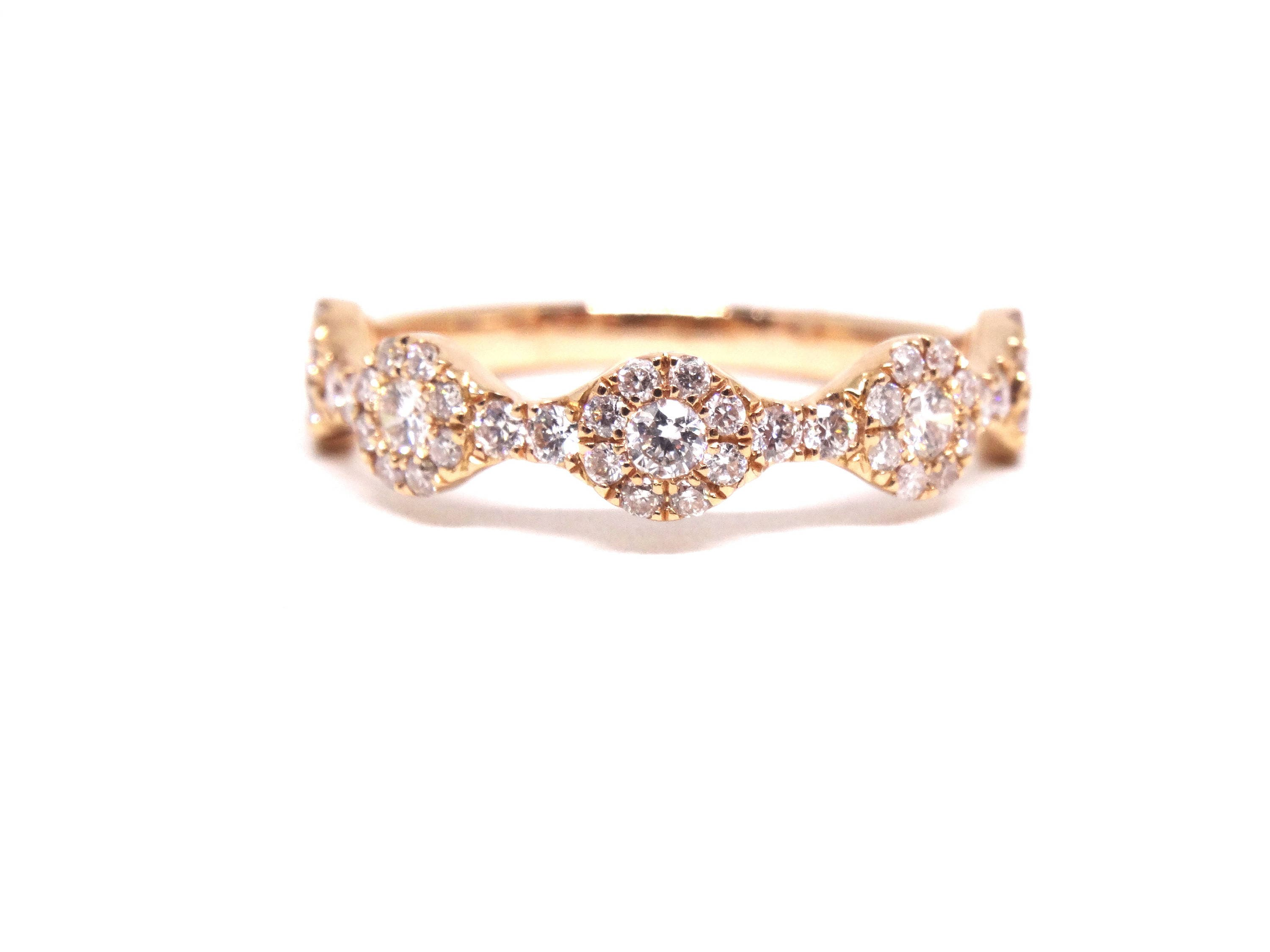 diamond gold band infinity kobelli pin bands by milgrain white annello sapphire tdw and