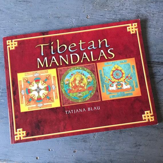 Tibetan Mandalas adult coloring book - Tatjana Blau - Relaxation, Mindfulness, Stress Relief, Creativity