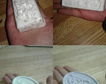 Homemade lavender bar soaps