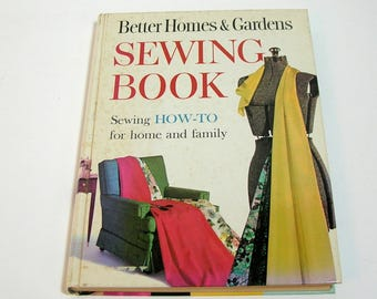 Better Homes and Gardens Sewing Book, 1961 Vintage Book