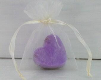 Ivory 3x4 Organza Favor Bag, Soap Favor Bag, Organza Favor Bag, Drawstring Bag, Small Organza Bag, Wedding Favor Bag, Bridal Favor Bag
