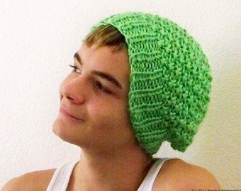 Mens Knit Hat Men, Mens Slouchy Beanie Men, Greenery Slouchy Beanie Hat, Knit Slouch Hat, Mens Slouch Beanie, Slouchy Hat, Mens Knit Beanie