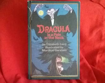Vintage Dracula is a Pain in the Neck Weekly Reader Book 1983