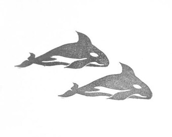 Orca Rubber Stamp   004029A