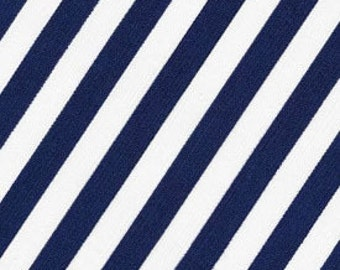 Robert Kaufman Navy Stripe