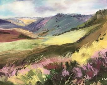 Mountain View Fine Art Giclee Print
