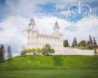 Manti, Utah LDS Mormon Temple