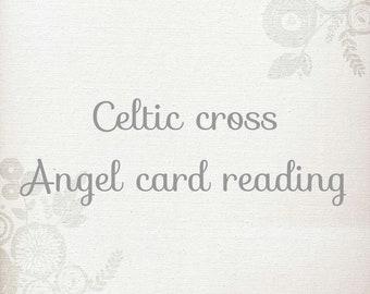 Celtic Cross - ten card detailed angel card reading