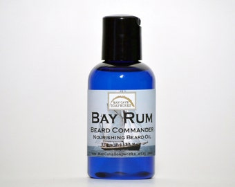 BEARD OIL - Beard Commander -  Hair and Skin Moisturizer - Your Choice of Fragrance by Man Cave Soapworks