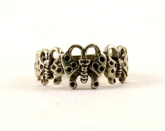 Vintage Butterfly Design Ring 925 Sterling Silver RG 3340