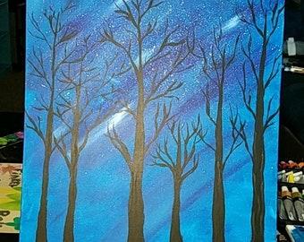 Midnight Trees