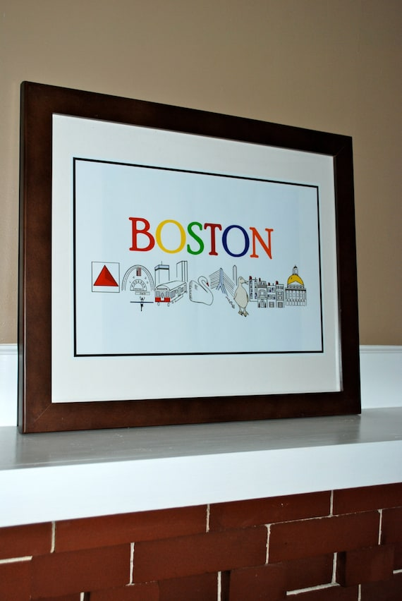 Merveilleux Boston Poster, Boston Marathon, Boston Wall Art, Boston Baby Gift, Boston  City Print, Boston Art Print, Boston Print, Boston Nursery
