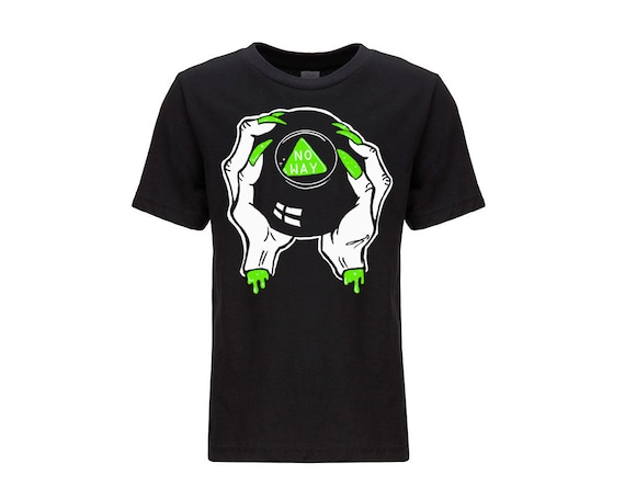 No Way Creep Magic 8-Ball Tshirt (in slime green) PRESALE