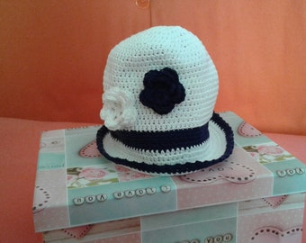 Cotton cap for little girl.
