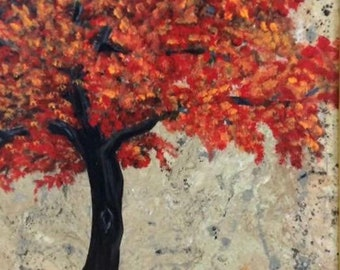 Autumn Tree- Before the Frost