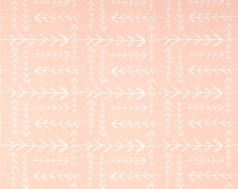 Teething Crib Rail Cover in Native Arrow (Pink)