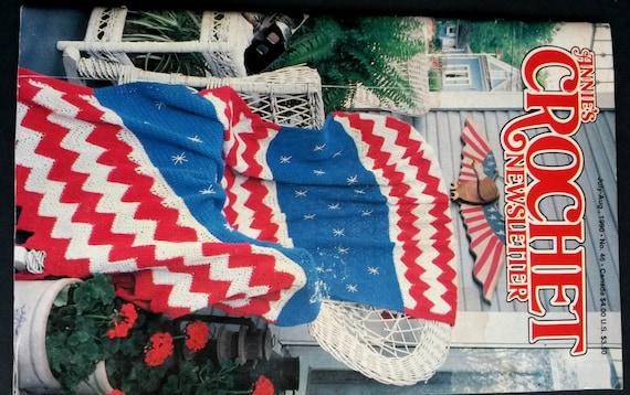 American Flag Crochet Pattern Old Crochet Patterns Vintage