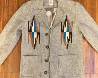 "Chimayo ""Ortega"" wool coat"