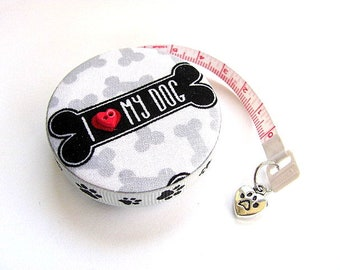 Measuring Tape Dog Love Retractable Tape Measure