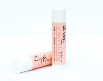 LIP BUTTER Citrus Squeeze, rich and creamy balm