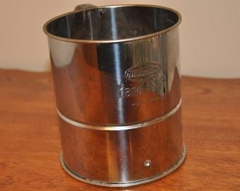 Vintage Andlock Flour Sifter