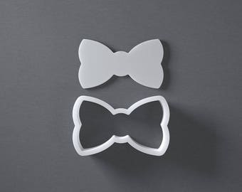 Bow tie cookie cutter, 3D printed, bowtie