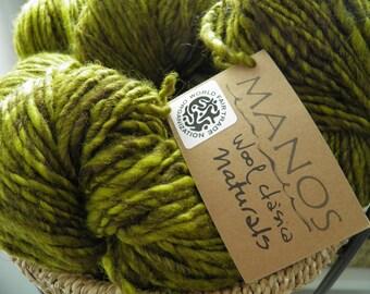 Manos del Uruguay Wool Clasica - Naturals Green gold hues