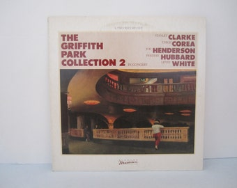 The Griffith Park Collection 2 In Concert - Stanley Clarke, Chick Corea, Joe Henderson & More - Double Vintage Vinyl Record Album 1983