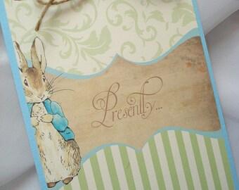 Peter Rabbit Baby Shower Invitation, Velveteen Rabbit Baby Shower Invitation, Rustic Barn Baby Shower Invitation Set, Garden Shower Invite