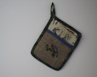 Lancaster WWII Aircraft Pot Holder