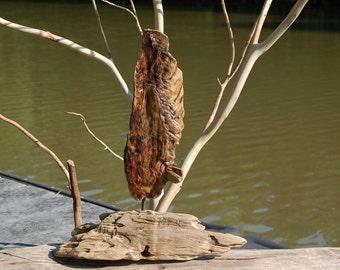 Driftwood Angel Wing Sculpture  Driftwood Art, Interior Design, Lake Decor, Driftwood Natural Art, Nature Decor, Wood Sculpture