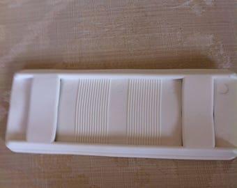 Shoulder reinforcement for strap color white