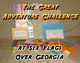 Scavenger Hunt Adventure - Six Flags Over Georgia - The Great Adventure Challenge