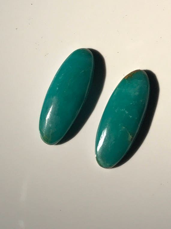 Turquoise Oval Cabochons (9.5 cttw)