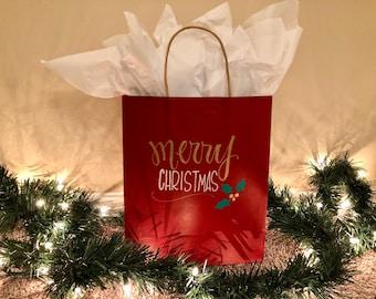 Christmas gift bag - SINGLE
