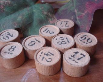 Vintage Loto Numbers # Bingo # French #Fleamarketbuzz