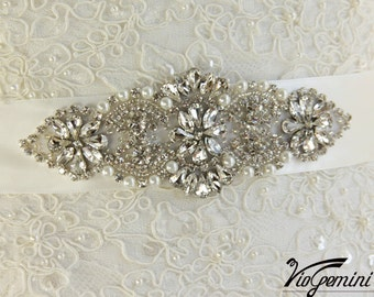 Bridal Sash, Wedding Sash, Bridal Sash Belt, Wedding Sash belt, Rhinestone Sash