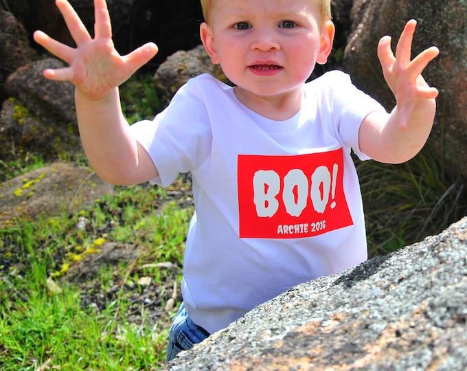 Boo! Halloween T-Shirt For Boys