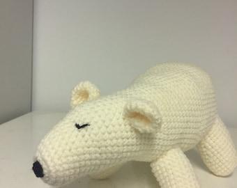 Polar Bear hand crochet